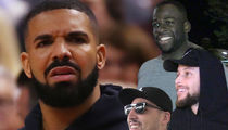 Golden State Warriors Troll Drake at NBA Finals, Play Pusha T Diss Track