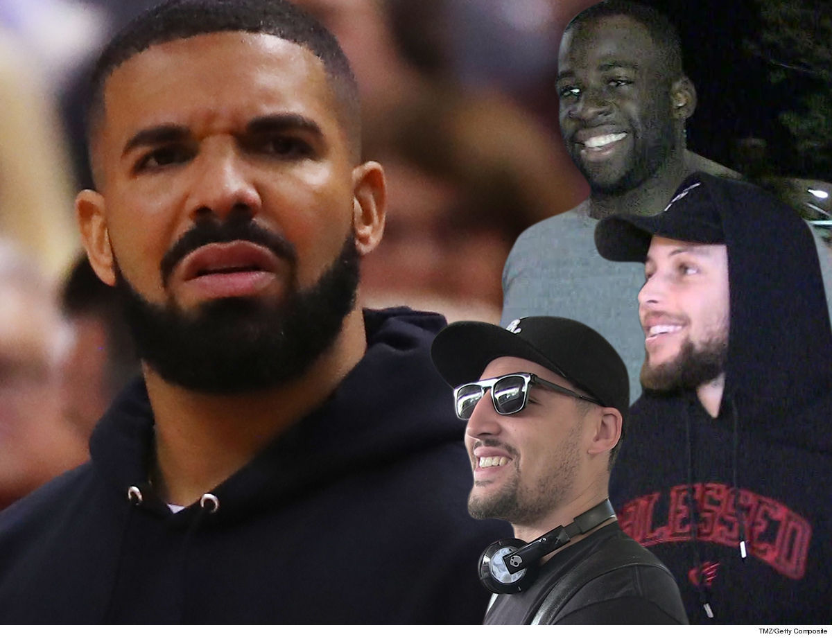 dbd352ca60a Golden State Warriors Troll Drake at NBA Finals, Play Pusha T Diss Track