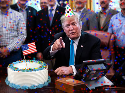 Trump Campaign Seeking 2 Million Signatures for President's Birthday Card