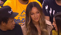 Beyonce Gives Epic Side-Eye to Wife of Warriors Owner