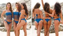 Arianny Celeste and Bombshell Friends Feelin' Blue in Bikini Photo Shoot