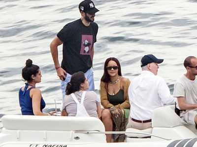 Rihanna Celebrates Forbes Honor on Vacay with Billionaire BF Hassan Jameel