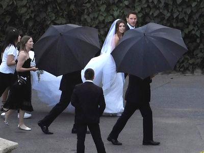Chris Pratt & Katherine Schwarzenegger's Wedding Day Photos