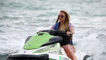Britney Spears Jet Skis in Miami with Boyfriend Sam Asghari
