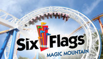 Six Flags Caught in the Middle of Raging Wildfire in SoCal