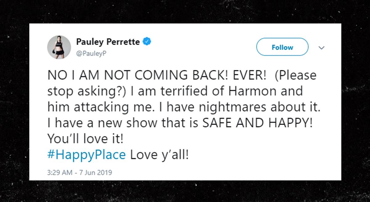 'NCIS'明星马克哈蒙据称身体检查Pauley Perrette  -  TMZ -0610-pauley-perrette-tweet-3