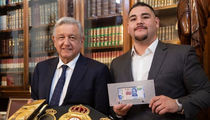 Boxing Champ Andy Ruiz Jr. Meets President of Mexico