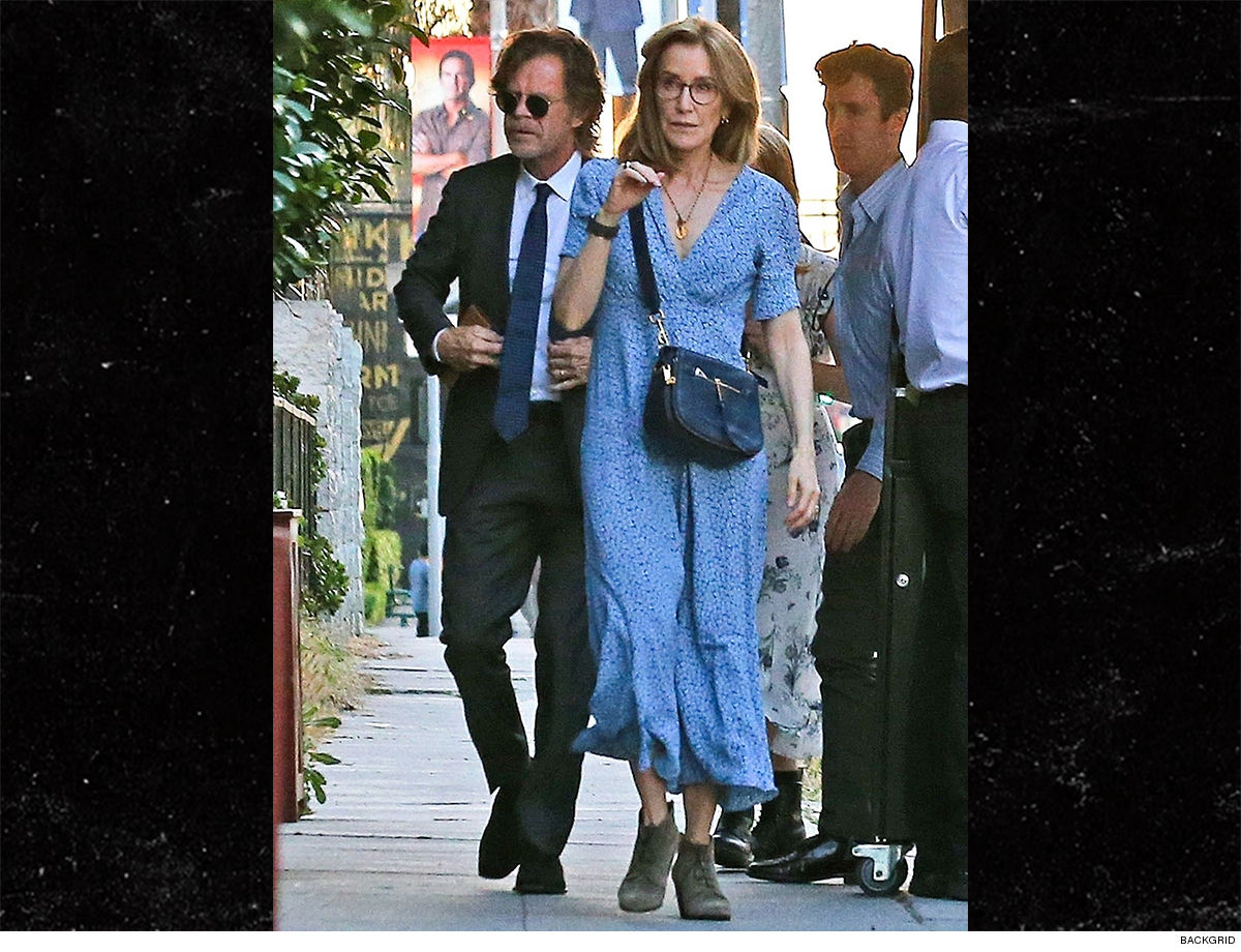 Felicity Huffman & William H. Macy 'When They See Us' ... We'll be at Sofia Grace's Graduation
