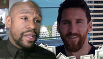 Floyd Mayweather Drops Off Forbes' List, Lionel Messi Takes Top Spot