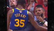 Drake Tried to Console Kevin Durant After Devastating Achilles Injury