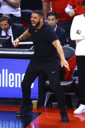 Drake's Courtside Antics During the NBA Finals