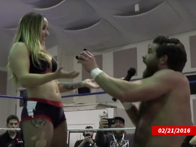 Pro Wrestling Stars Getting Divorced 2 Years After Viral In-Ring Engagement