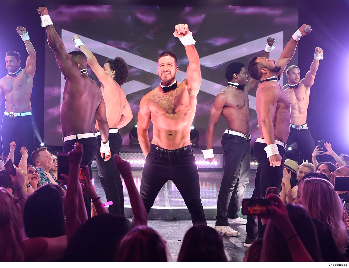 'Jersey Shore' Star Vinny 6 More Weeks with Chippendales ... He Was Huuuuuge!!!