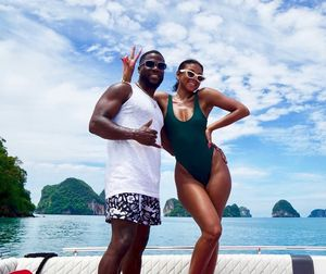 Kevin and Eniko Hart's Vacation In Thailand