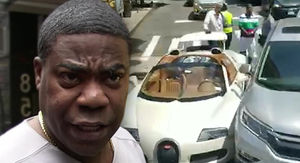 Tracy Morgan's Crashed Bugatti Will Cost a Fortune to Repair