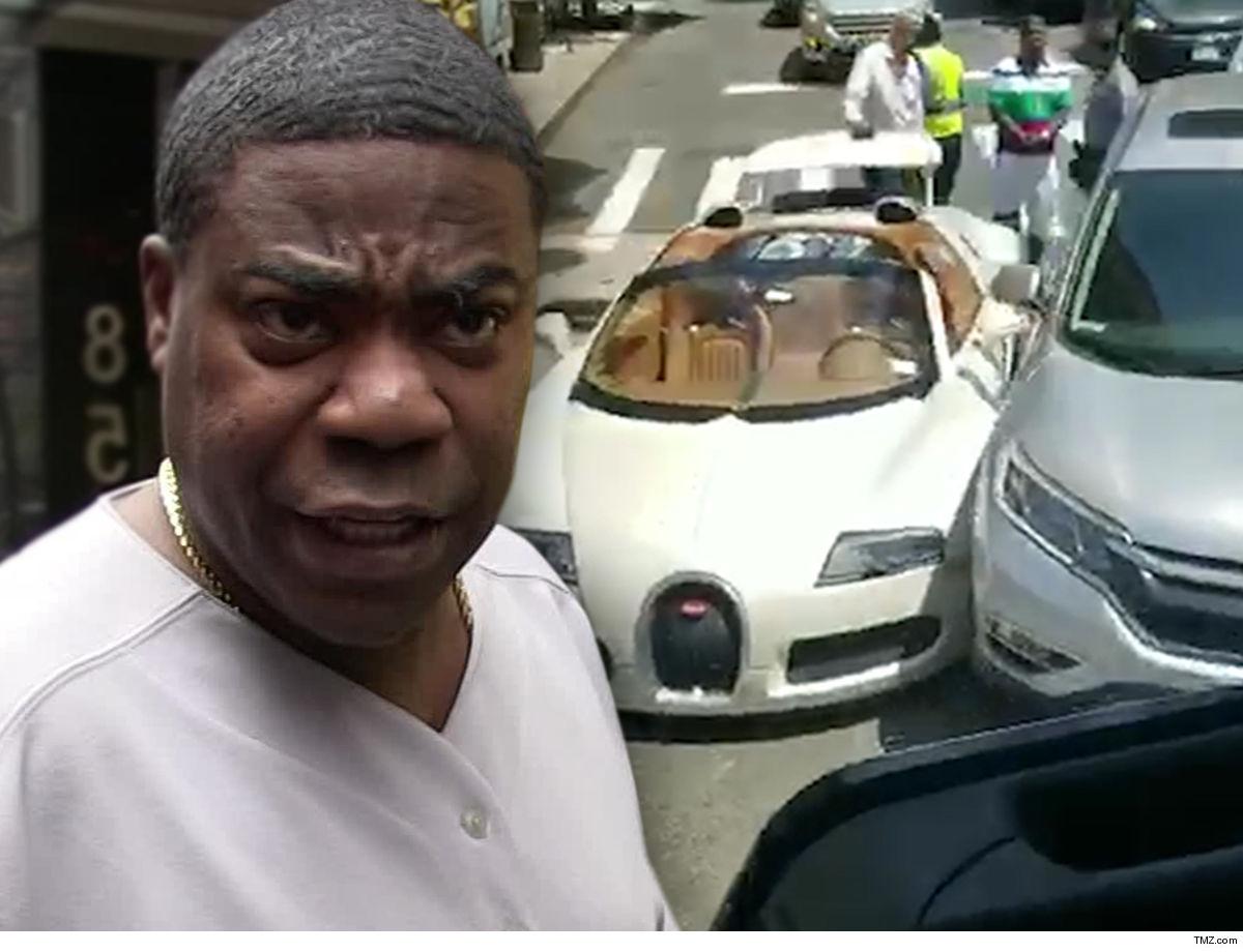 Tracy Morgan Crashed Bugatti Will Cost a Fortune to Fix