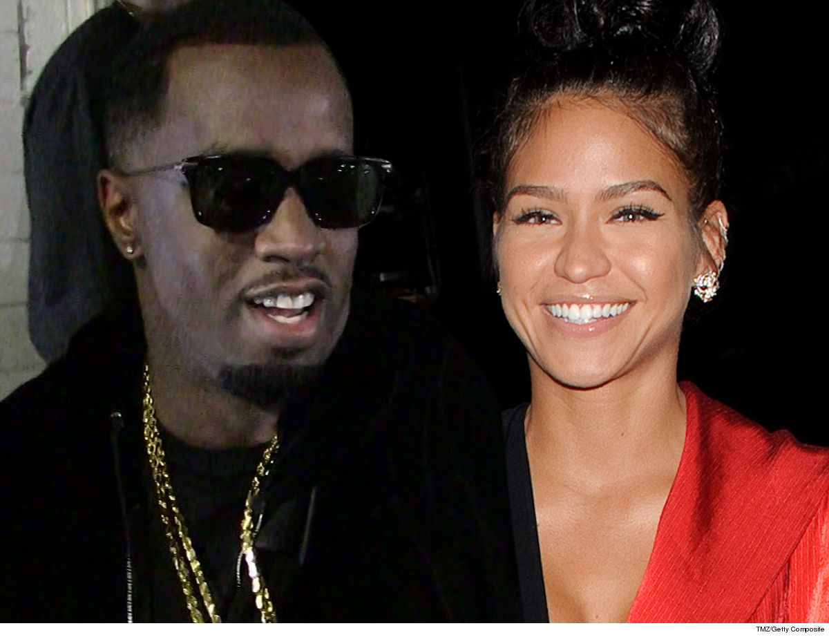 Diddy Shout-Out to Cassie ... Congrats on Pregnancy!!!