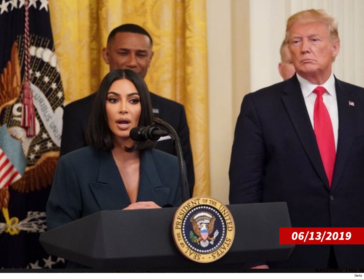Kim Kardashian First Freed Prisoner ... Raves About White House Appearance