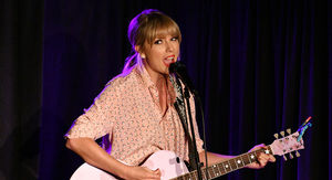 Taylor Swift Performs Surprise Set at Stonewall, Wishes Crowd Happy Pride