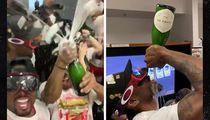 Toronto Raptors Locker Room Party Was Insane, CHUG! CHUG! CHUG!