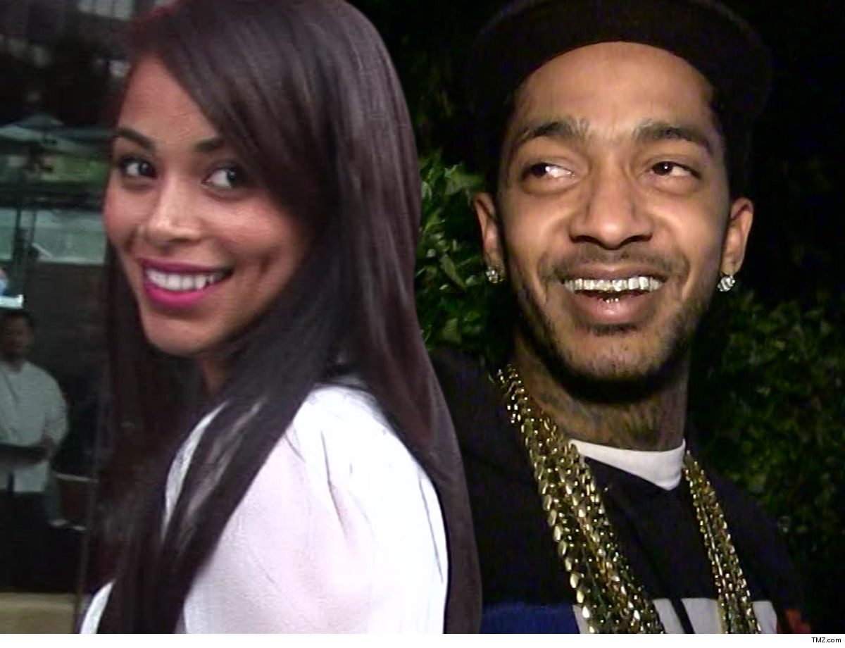 Lauren London Honors Nipsey on Father's Day ... One Reason I Loved You