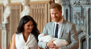 Baby Archie Unveiled for Prince Harry's First Father's Day