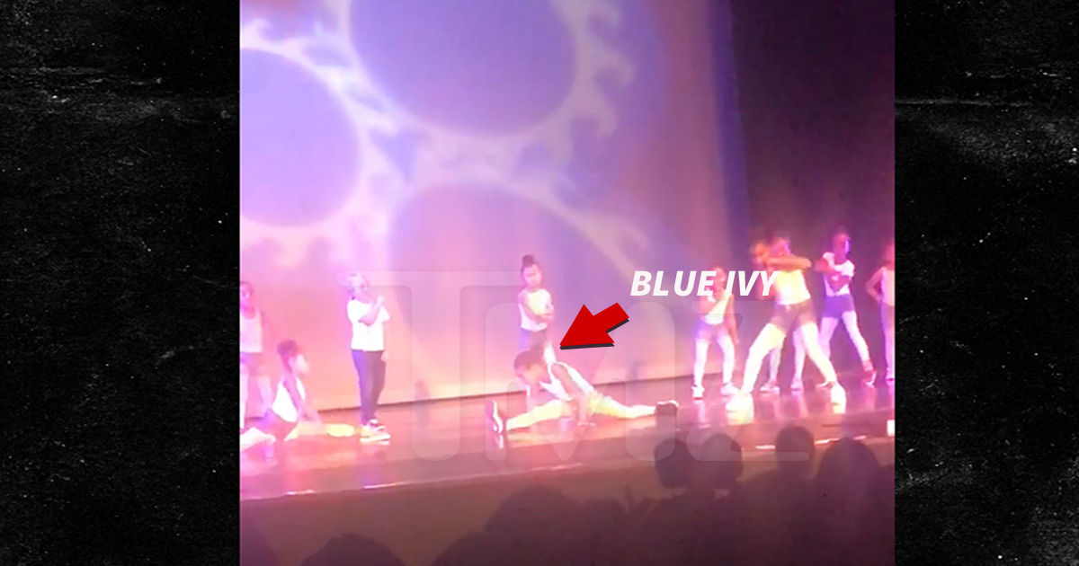 Blue Ivy Dance Recital Star