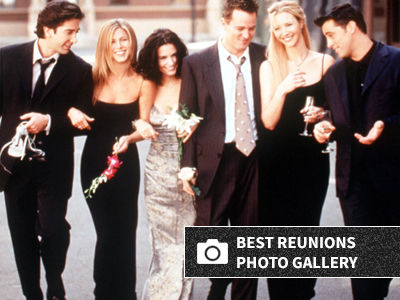 There Was an EPIC 'Friends' Reunion for Courteney Cox's 55th Birthday Celebration
