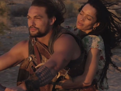 Jason Momoa Built a Harley Davidson with His Two Kids and This Video Is Just Beautiful