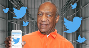 Bill Cosby's Father's Day Tweet Was Dictated From a Prison Phone