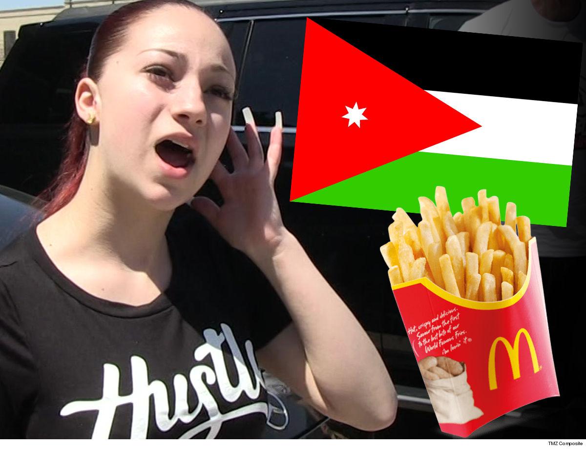 Danielle Bregoli Concert in Jordan Canceled ... Over McDonald's Tweet!!!