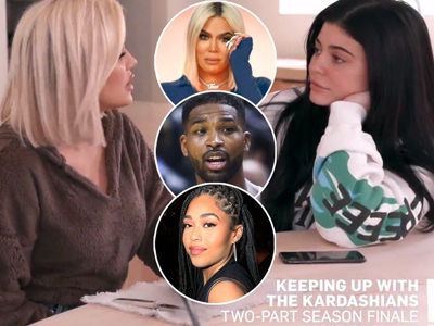 'They Were ALL Over Each Other!' -- Watch the Moment Khloe Found Out About Tristan & Jordyn