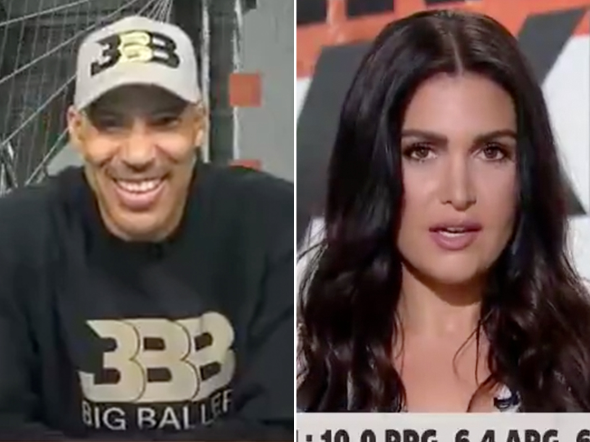 LaVar Ball Denies Making 'Sexual' Comments ... to ESPN's Molly Qerim