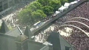 Cops Arrest 2 After Gunshots Fired at Toronto Raptors Parade