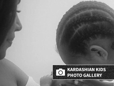 Kim Kardashian Shares New Photo of Baby Psalm with Saint and It's Just Too Cute