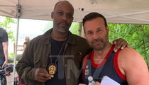DMX Reports for Duty as Detective on Set of 'Chronicle of a Serial Killer'