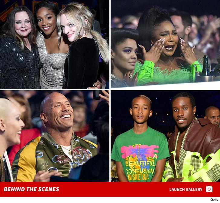 2019 MTV Awards Stars Shine, Princess Love Squirms ... During Zachary Levi's Kim K Sex Tape Joke