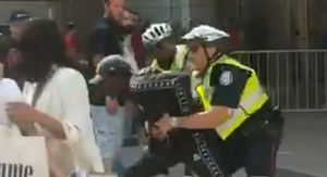 Toronto Raptors Parade Suspected Gunman Tackled By Cops In Dramatic Video