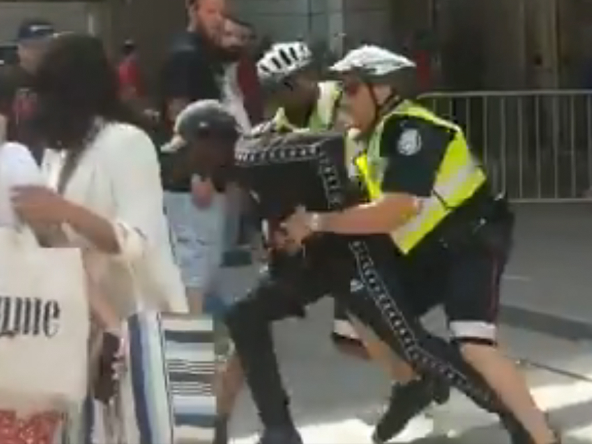 875bf241b9a Toronto Raptors Parade Suspected Gunman Tackled By Cops In Dramatic Video