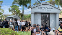 XXXTentacion Fans Flood to Gravesite on 1-Year Anniversary of His Death