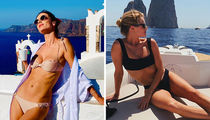 Alessandra Ambrosio vs. Rosie Huntington-Whiteley ... Who'd You Rather?! (Models On Vacay Edition)
