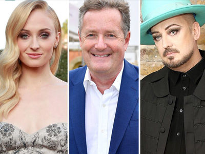 Here's Why Piers Morgan HATES the Idea of Sophie Turner Playing Boy George In a Biopic