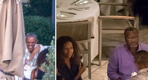 Obama's Million Happy Faces During Family Dinner in France