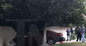Bob Barker's Home Smashed by Out-of-Control Car