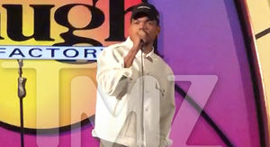 Chance the Rapper Tries His Hand at Stand-Up Comedy at Laugh Factory