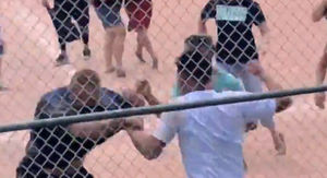 Full Video of Youth Baseball Brawl Shows Kids Running, Adults with Bats