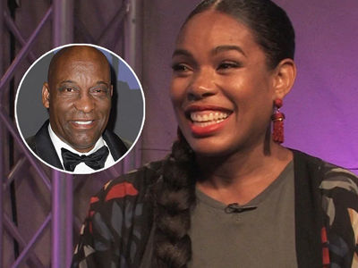 'Snowfall' Star Angela Lewis Opens Up About Losing John Singleton and Gaining Her First Baby…