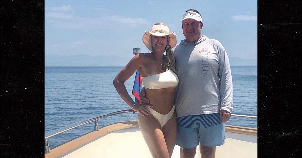 Bill Belichick Stuntin' In Greece, Hot Bikini GF and Super Bowl Swag