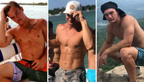 'Bachelorette' Tyler Cameron's Shirtless Shots ... See His Rose-Worthy Bod!
