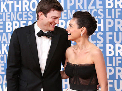 Mila Kunis and Ashton Kutcher's Hilarious CLAPBACK Video to Tabloid Report They Broke Up